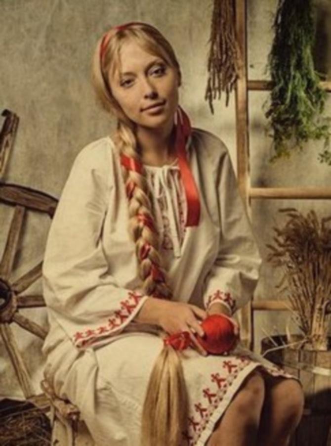 прически древних славян