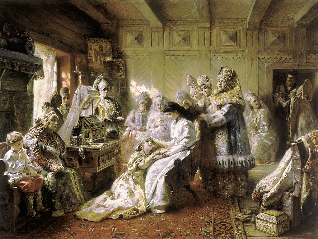 какое обычно в старину было приданное у невесты
