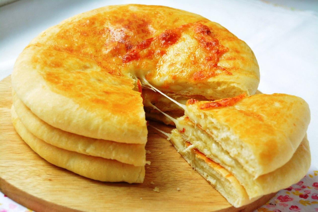 Пошаговый рецепт хачапури с сыром из слоеного теста - ИзыскON 9